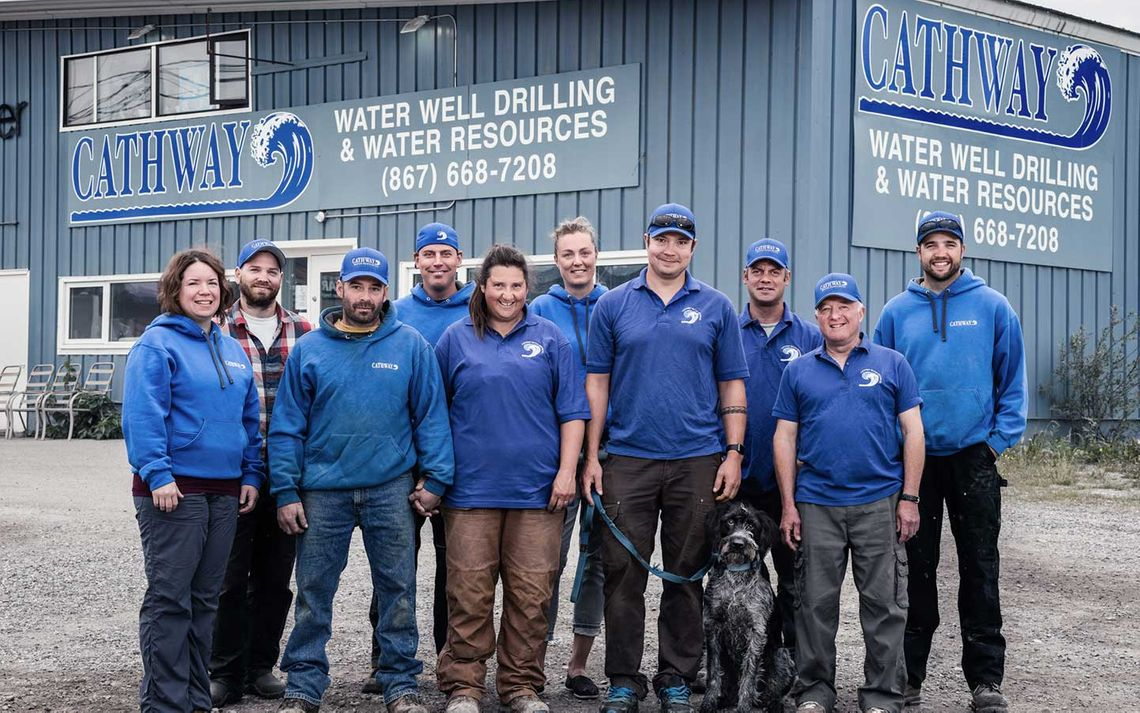 Cathway Water Resources staff